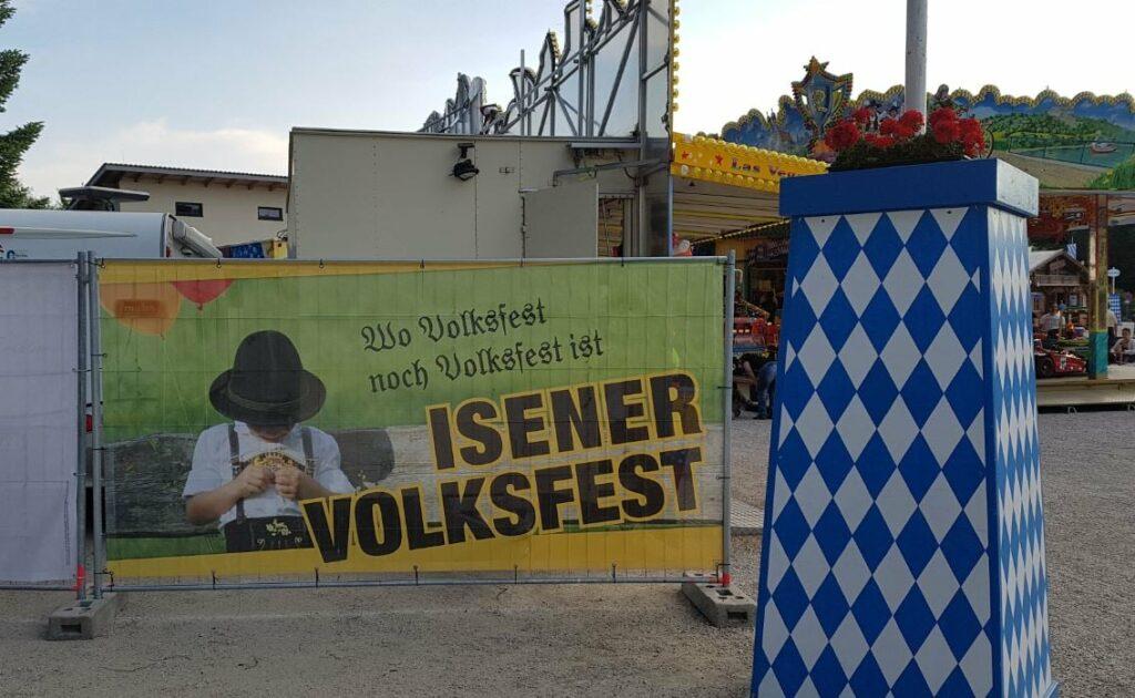 Volksfest Isen auf September 2021 verschoben